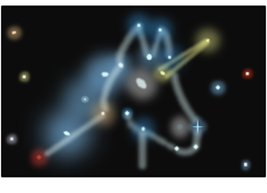 Unicorn constellation made up of differing star ages
